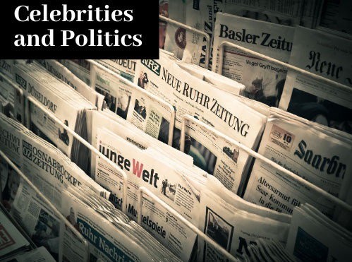 Celebrities and Politics