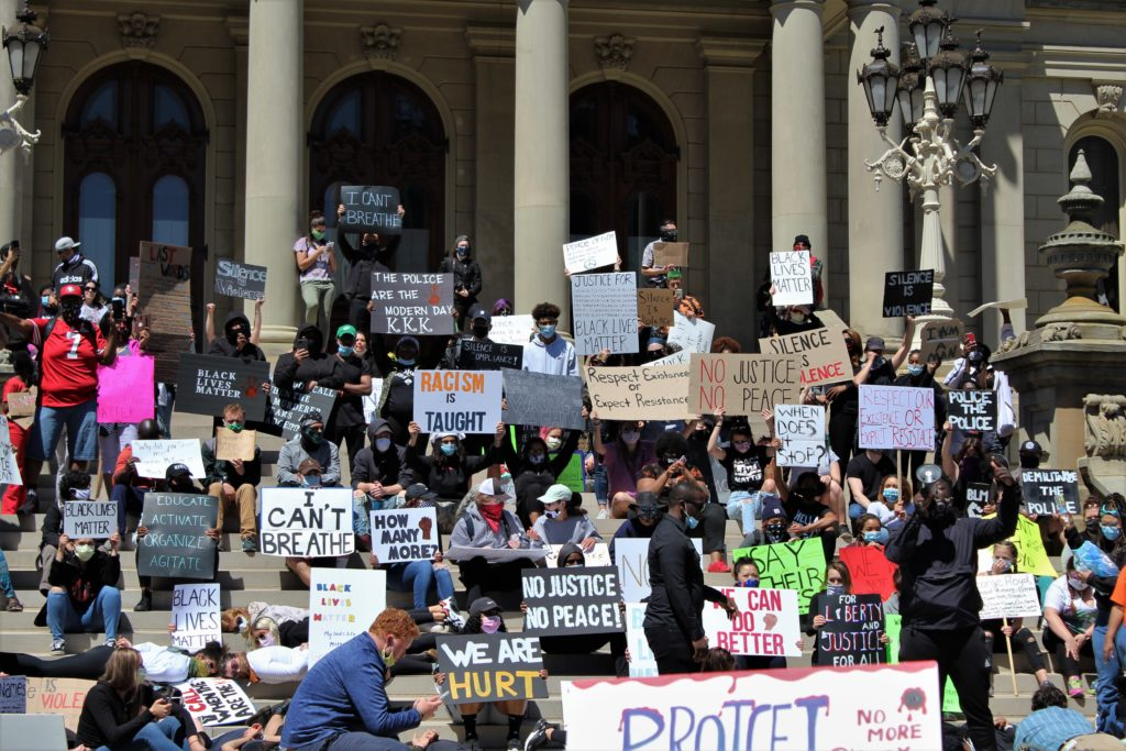 A Personal Account of the Lansing Protest